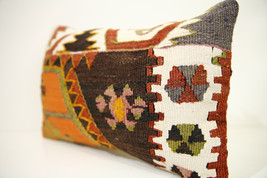 Kilim Pillows | 18x12 | Lumbar pillows | 1390 | Turkish pillows , throw ... - $49.00