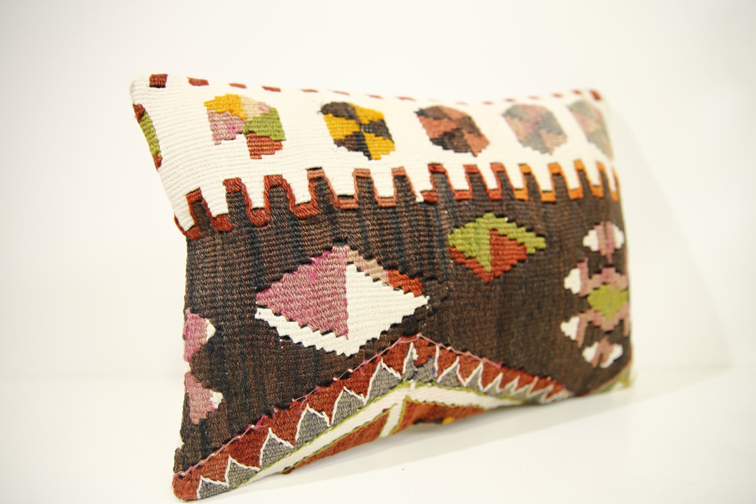 Kilim Pillows | 17x12 | Lumbar pillows | 1443 | Turkish pillows , throw pillows
