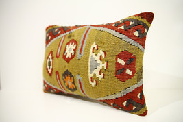 Kilim Pillows | 17x12 | Lumbar pillows | 1441 | Turkish pillows , throw ... - $49.00