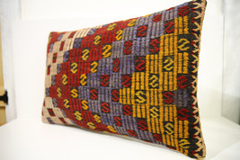 Kilim Pillows | 24x16 | Lumbar pillows | 1484 | Turkish pillows , throw ... - $56.00