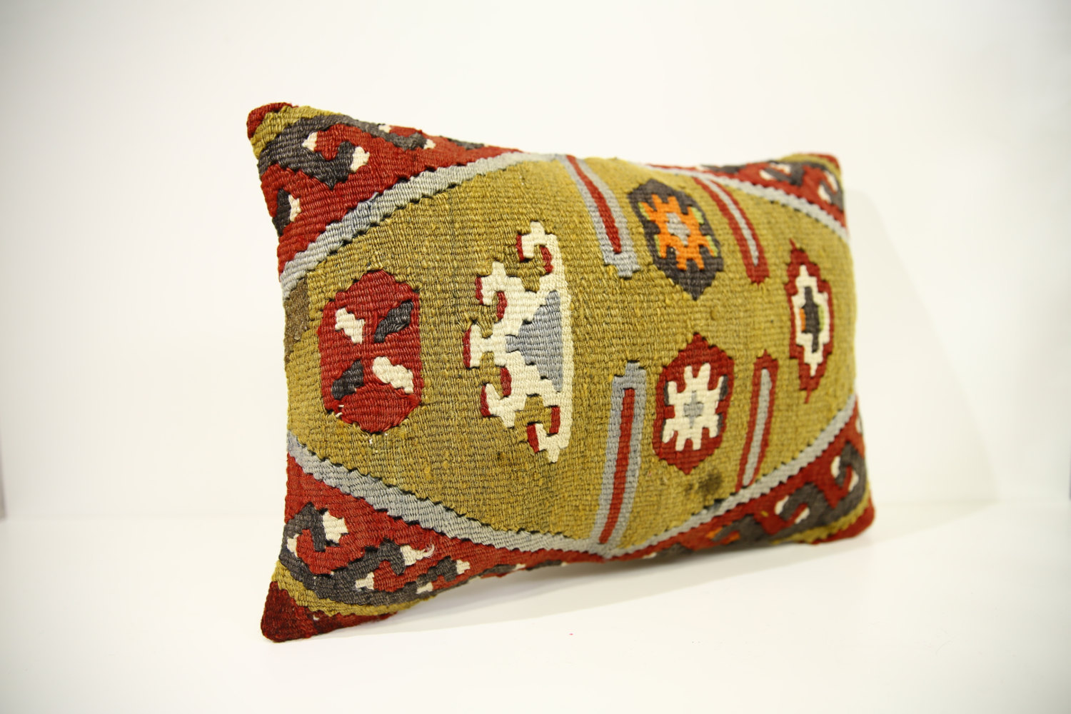 Kilim Pillows | 17x12 | Lumbar pillows | 1441 | Turkish pillows , throw pillows