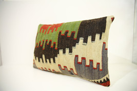 Kilim Pillows | 18x12 | Lumbar pillows | 1323 | Turkish pillows , throw ... - $56.00