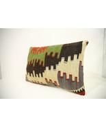 Kilim Pillows | 18x12 | Lumbar pillows | 1323 | Turkish pillows , throw ... - $56.00