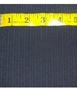 120'S Italian Wool Suit fabric 7.2 Yards navy Blue  MSRP $980 Free shipping - $91.96