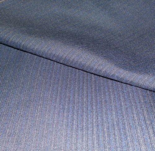 120'S Italian Wool Suit fabric 7.2 Yards navy Blue  MSRP $980 Free shipping