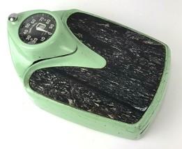 Vintage Mid Century Health O Meter Bathroom Scale 300lb Mint Green  - $49.49