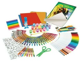 Crayola Giant Art Box 177pc Crayons Markers Colored Pencils Drawing Kids Art NIB image 2