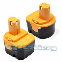 TWO BATTERIES For RYOBI 12V  Power Tool 1400652 1400652B 1400670 BATTERY X2 - $53.35