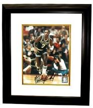 Nate Archibald signed Boston Celtics 8x10 Photo Custom Framed - £60.32 GBP