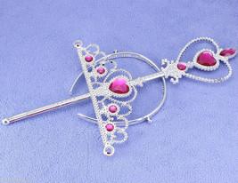 Lot of 5 pcs Princess Crown Magic Wand Set  Gir... - $14.83