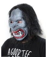 Hairy Black  Ape Halloween Funny Scary Costume Mask - $5.93