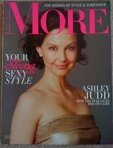 MORE magazine May 2011: Ashley Judd, Mika Brzezinksi, Kathryn Stockett-The Help - $6.30
