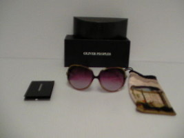 Authentic olliver people women sunglasses sofiane cer rose lenses new with box  - $178.15