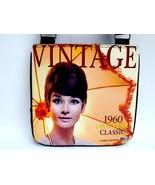 Audrey Hepburn Vintage Classic 1960's Messenger Bag Purse - $20.00