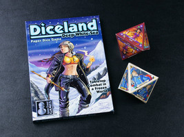 Diceland: Deep White Sea - Paper Dice Game from Cheapass Games - $15.00