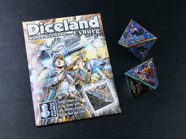 Diceland: Cyburg - Paper Dice Game from Cheapass Games - $9.00