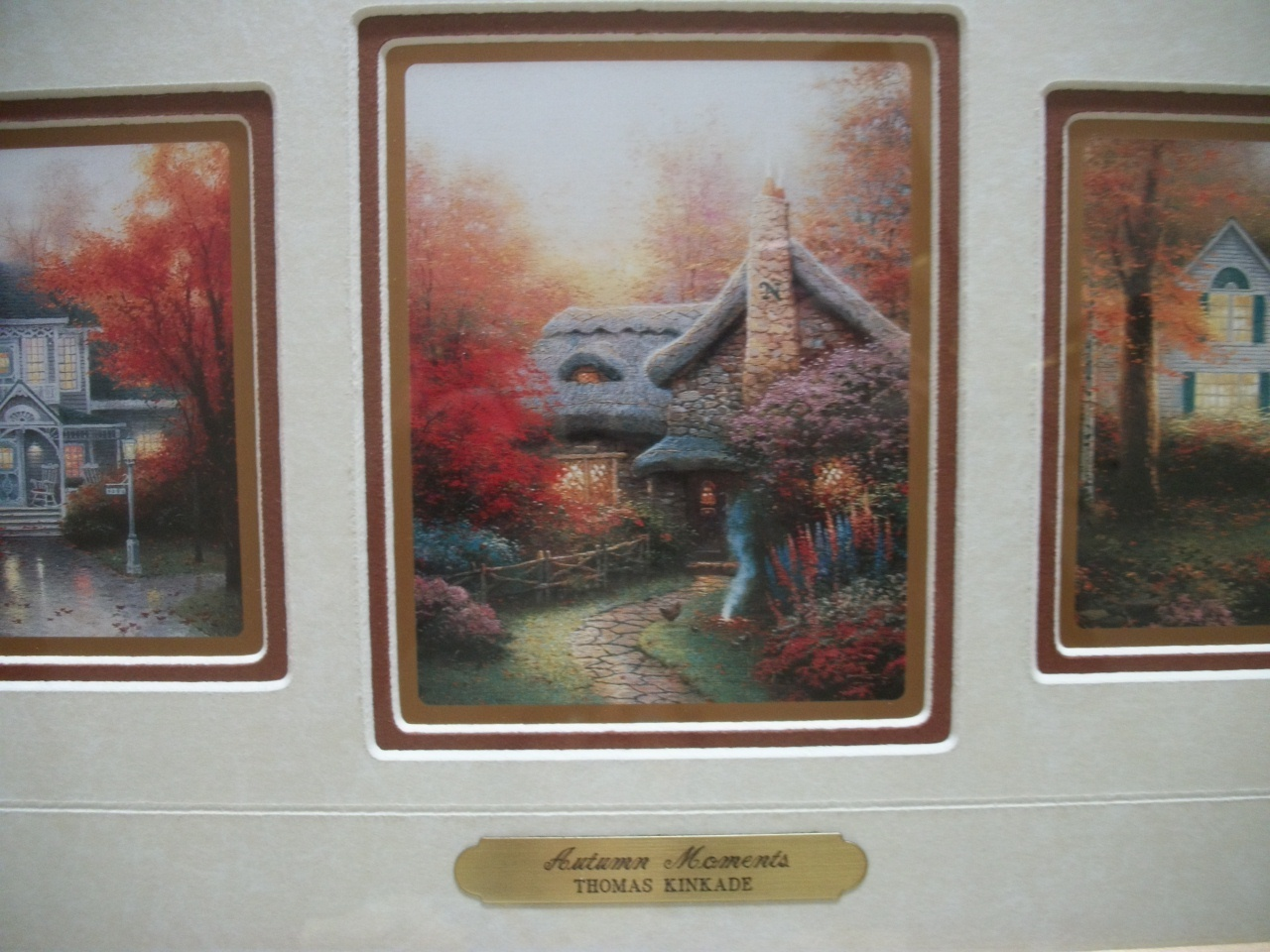 Thomas Kinkade Paintings Autumn Moments