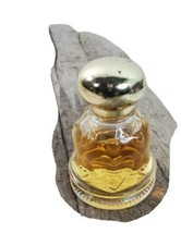 Love Chimes Sweet Honesty Cologne Avon .5oz Clear Glass Bell Shape Bottle - $24.49