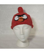 Grumpy Red Bird Hat for Children - Animal Hats - Small - $16.00
