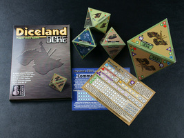 Diceland: OGRE - Paper Dice Game from Cheapass Games - $16.00