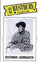 Dionne Warwick -At Westbury Music Fair  (Program) - $2.95