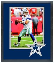 "Tony Romo 2013 Dallas Cowboys - 11"" x 14"" Matted and Framed Photo  - $888,58 MXN"
