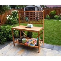 Foldable Potting Bench Home Garden Planting Station - $199.00