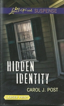 Hidden Identity Carol J. Post (Love Inspired Large Print Suspense)Paperb... - $2.25