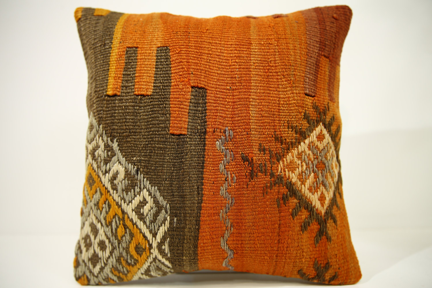 Kilim Pillows | 14x14 | Kelim pillows | 1412 | Turkish pillows , Kilim cushion