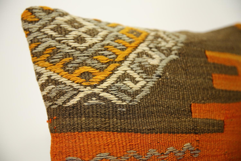 Kilim Pillows | 14x14 | Kelim pillows | 1412 | Turkish pillows , Kilim cushion