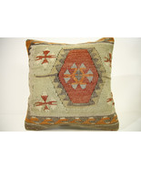 Kilim Pillows | 15x15 | Kelim pillows | 1395 | Turkish pillows , Kilim c... - $42.00