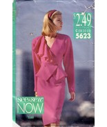 Vintage BUTTERICK 5623, See and Sew, Misses Top and Skirt -Size 18-22 - $17.00