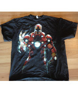 USED IRON MAN T-SHIRT ADULT EXTRA LARGE SEE PIC... - $9.89