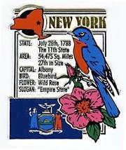 New York The Empire State Montage Fridge Magnet - $3.32