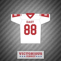 Hastings Ruckle 88 East Dillon Lions Football Jersey Friday Night Lights - $54.99