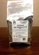 Sodium Metabisulfite Food Grade 5 Lb Pack FREE ... - $15.43