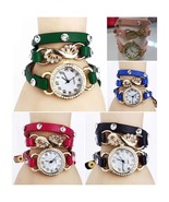 LOT OF 5 Watches HOT Fashion Woman FLOWER Ceramic Dial LOT 1 - $19.98