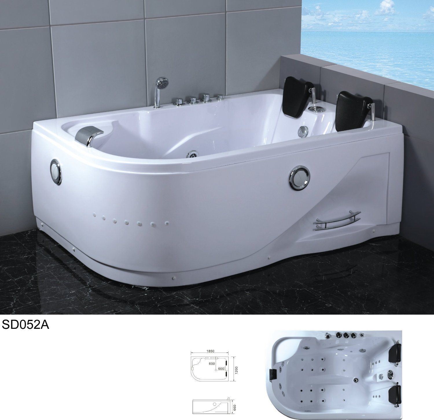 2 Person Bathtubs.2 Person Whirlpool Bathtubs. Two Person Soaker Tub ...