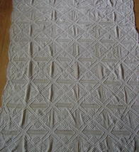 Vintage - Popcorn Crochet Throw - $295.00