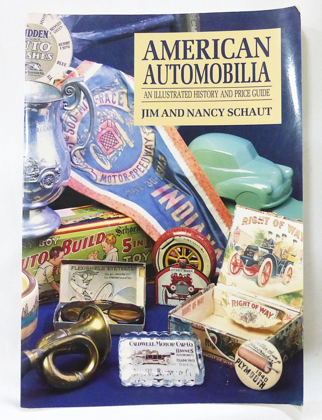 Primary image for American automobilia an illustrated history and price guide paperback 1994