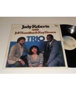 JUDY ROBERTS TRIO NM Autographed Jeff Hamilton Ray Brown PAUSA PR7147 album - £18.55 GBP