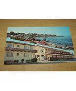 VINTAGE UNUSED POSTCARD BORG'S OCEAN FRONT HOTEL PACIFIC GROVE - $5.00