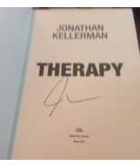 Therapy SIGNED by Jonathan Kellerman 1ST/1ST (2004, Hardcover) - $13.10