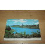 VINTAGE UNUSED POSTCARD WASHINGTON STATE CAPITOL CAPITOL LAKE OLYMPIA - $5.90