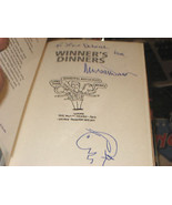 WINNERS DINNERS SIGNED W/ ART BY MICHAEL WINNER 1ST/2ND - $46.61