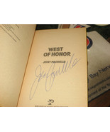 WEST OF HONOR SIGNED BY JERRY POURNELLE 1978 1ST/1ST POCKET BOOKS PB - $13.10