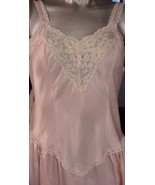Victoria's Secret Gown M Pink Long Length Elega... - $51.48