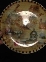 """Vintage Montreal Canada Souvenir Collectible Plate Decor 7"""" Collector Travel image 3"""