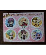 6x sticker set Hakuouki Amnesia Clock ZeroWand of Fortune anime Japan RA... - $15.83
