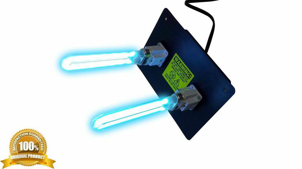 Duct Air Purifier : Air purifier uv light for ac hvac ultravaiolet dual lamp